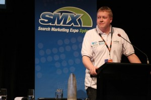 Rob Kerry SMX Sydney 2011